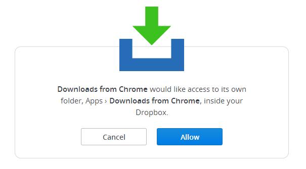 Como descargar archivos de Dropbox en Chrome
