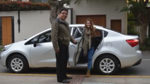 Viajar gratis con Uber Taxi en Lima Peru