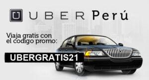 Codigos promo uber taxi