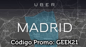 Código Promocional Uber Madrid España