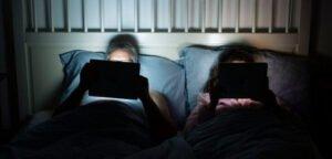 Proteger los ojos del brillo de pantallas